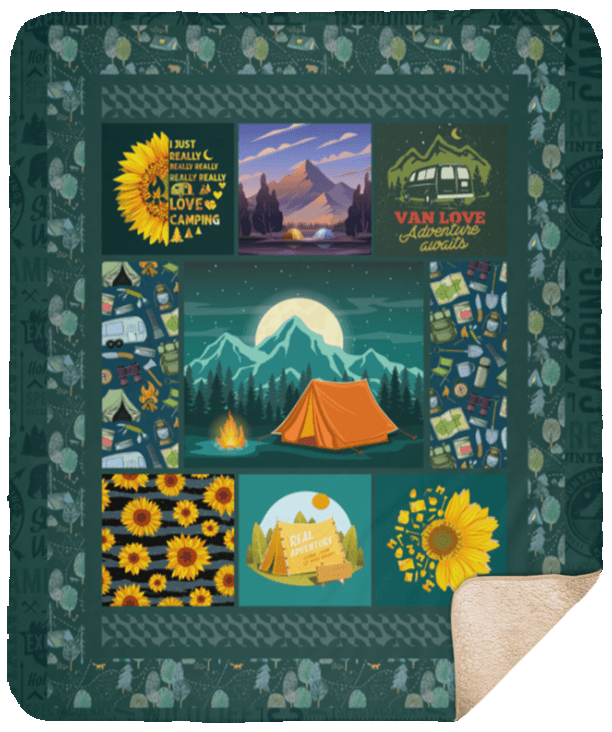 Premium Sherpa Blanket - 50x60