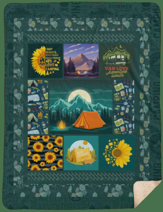 Premium Sherpa Blanket - 60x80