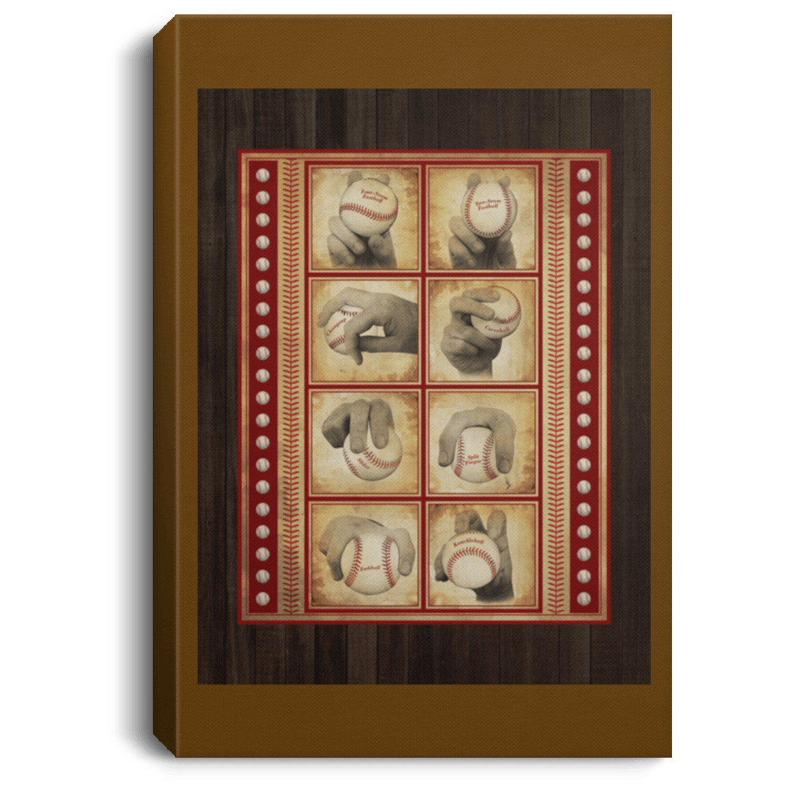 0.75'' Framed Canvas