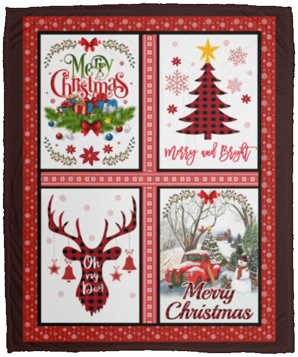 Merry Christmas Gift.This Is My Christmas Movie Watching Blanket Merry Christmas Red Truck Plaid Xmas Tree Blanket Gift Ideas