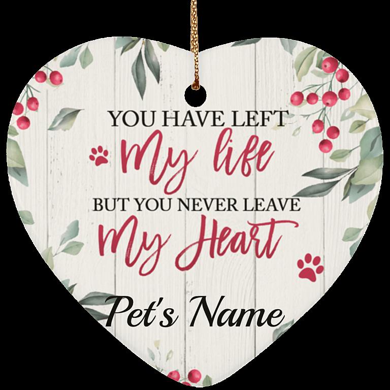 Ceramic Heart Ornament