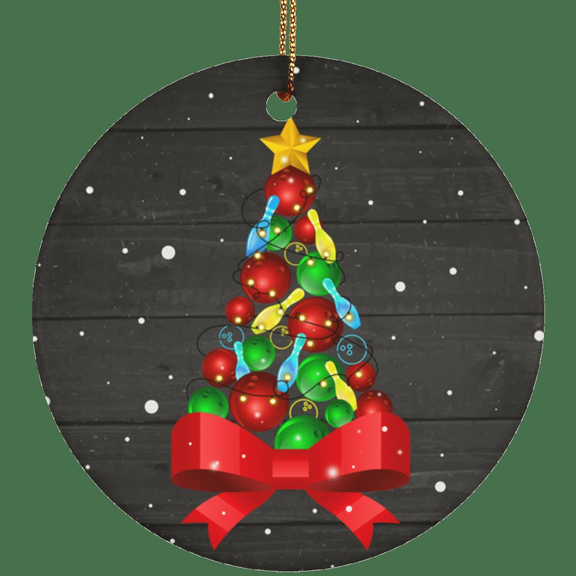 Ceramic Circle Ornament