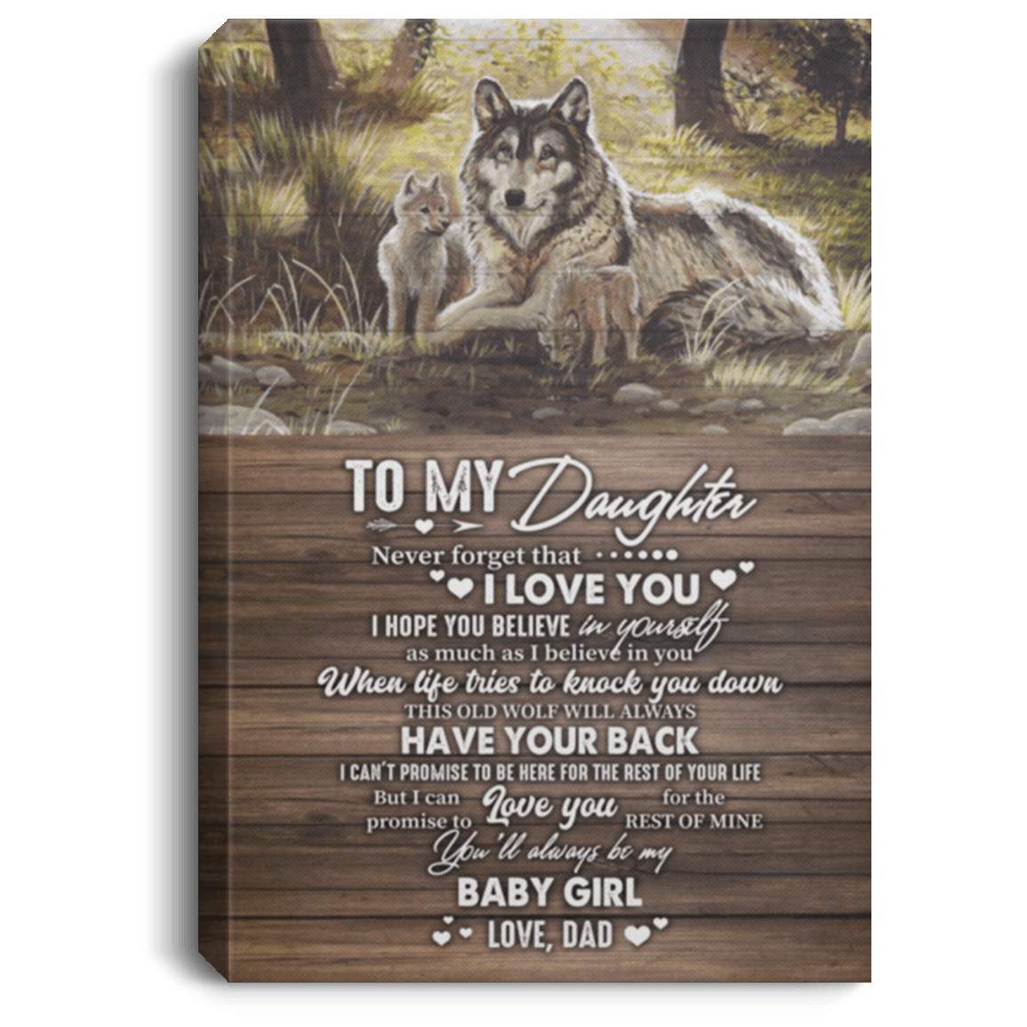 Download To My Daughter Poster | To My Daughter Never Forget That I ...