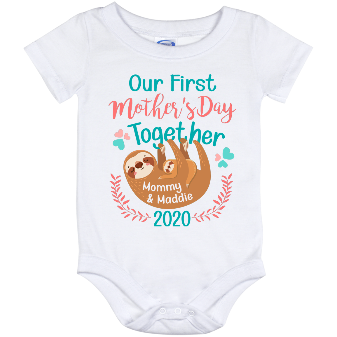 Our first mothers day out fit Mommy /& Me Outfit Baby bodysuit Gift new mama gift