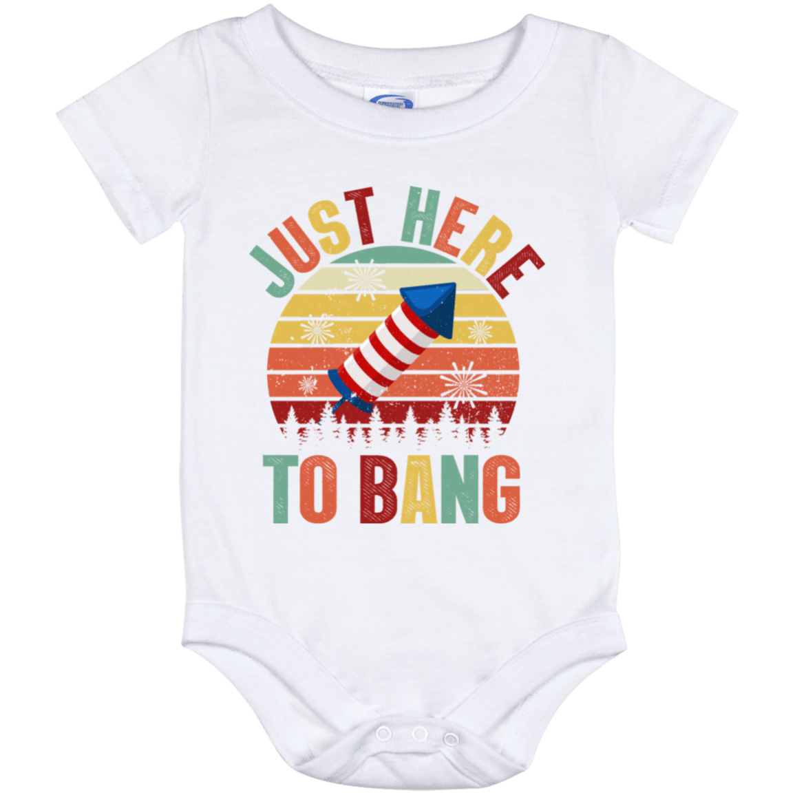 Miss USA 4th of July baby onesie
