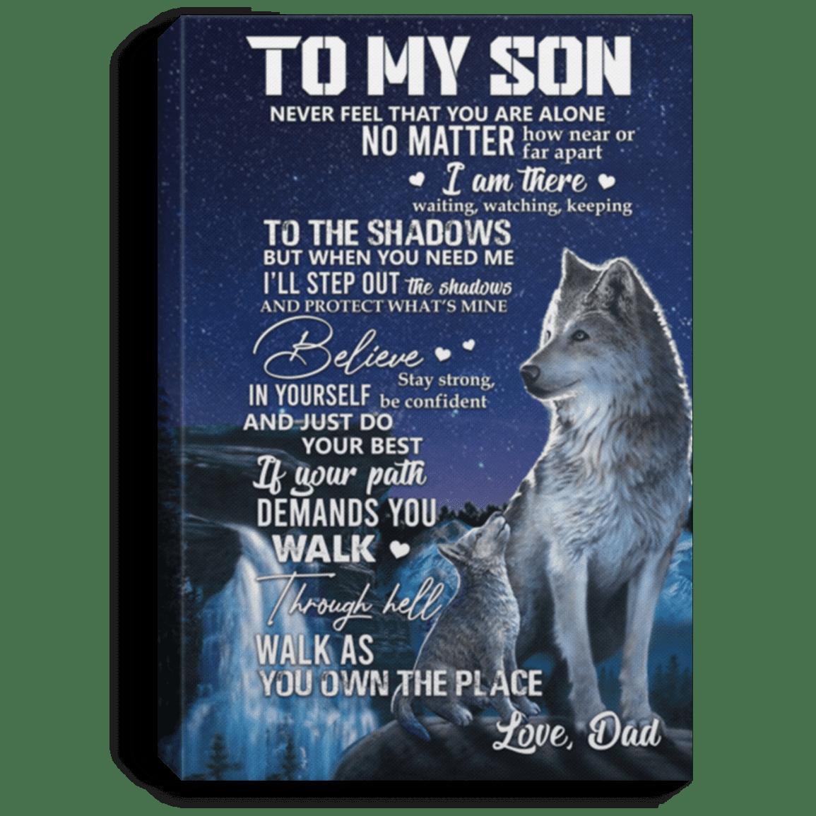 Wolf Dad Graphic Tees Wolf Geek Wolf Dad T-shirt Wolf Gift