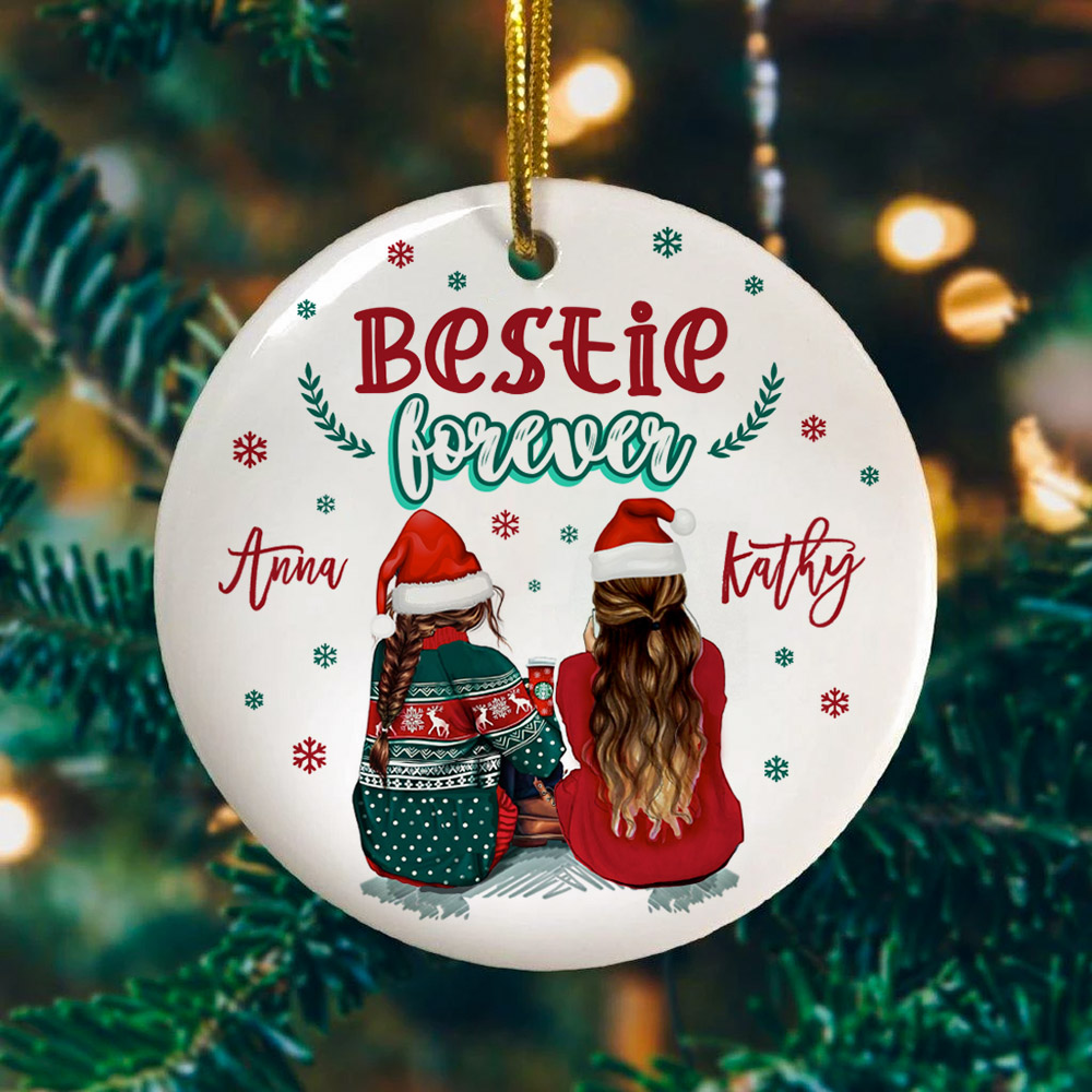 Bestie ornament Bestie ceramic Special Bestie Bestie keepsake