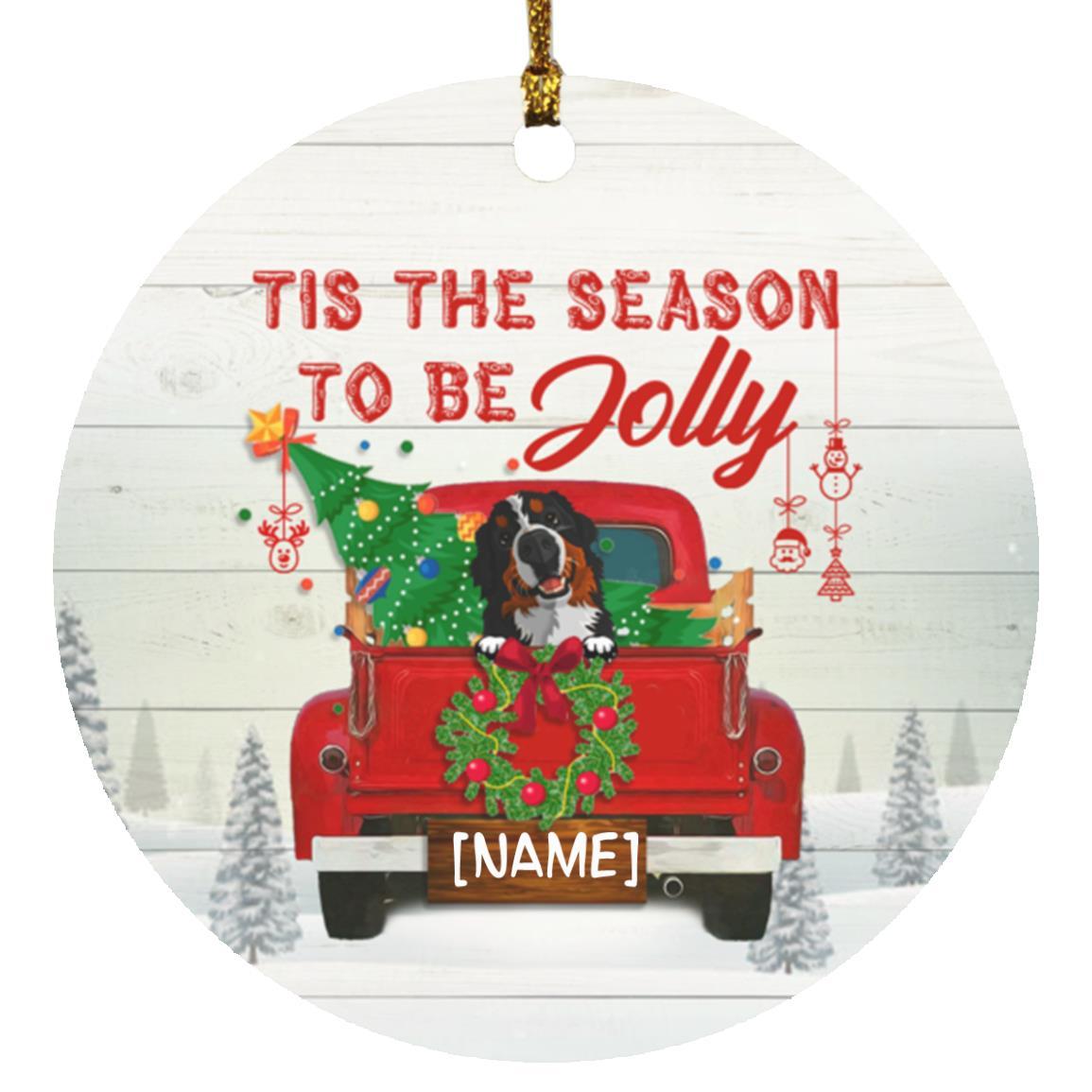 Xmas Dog Lover Gift 2020 Quarantine Christmas Gift For Dog Mom Ornament Personalized Christmas Girl With Dog Ornament Christmas Ornament